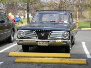 Plymouth Valiant grille