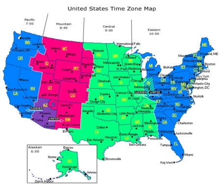 united-states-time-zones