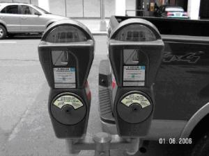 single-space-parking-meters