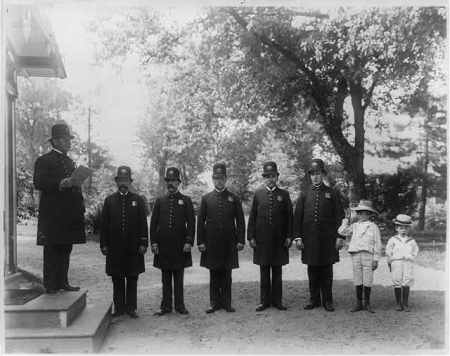 White House Police 1902